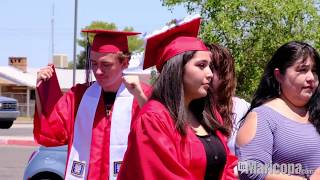 Maricopa High graduates have a window seat for Diploma Day