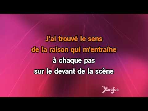 Karaoké Le sens de la vie - Tal *