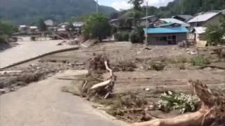 岩手県浸水被害岩泉町小地沢将之さんルポ