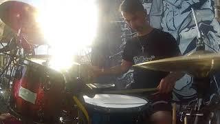 Video Sagittari - Neandrtálci - M/M - ( Drum cam GoPro)