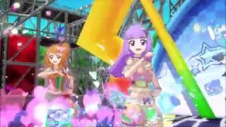 Akari ozora  - (Aikatsu!) - Aikatsu! Akari Ozora and Sumire Hikami Hey! little girl Stage 2