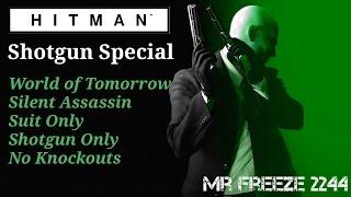 HITMAN - Sapienza Shotgun Special - Silent Assassin/Suit Only/No Knockouts