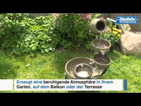 Wetelux Solar-Kaskaden-Brunnen
