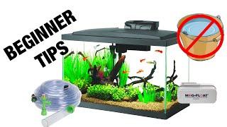 Aquarium Maintenance for Beginners