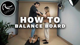 How To Balance Board - erster Ride für Anfänger & Beginner - einfaches Tutorial | BREDDER