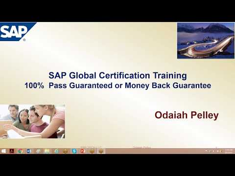SAP CO Professional Certification Exam P_FINMGT_65 - YouTube