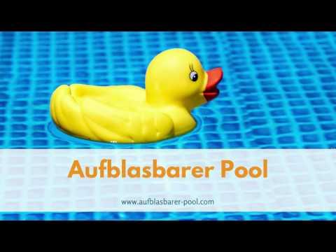 Aufblasbarer pool