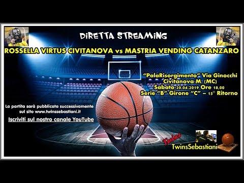 Preview video Diretta Rossella Civitanova - Catanzaro