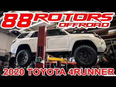 2020 TOYOTA 4RUNNER TRD OFFROAD PREMIUM, FOX LIFT, PRO WHEELS