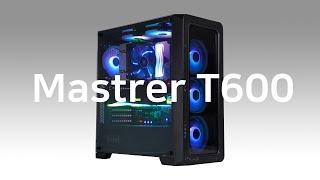 마이크로닉스 Master T600 RGB 강화유리_동영상_이미지