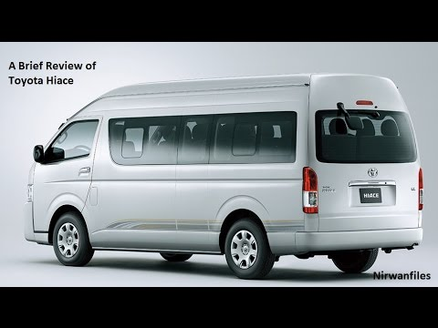 Review Toyota Hiace - New