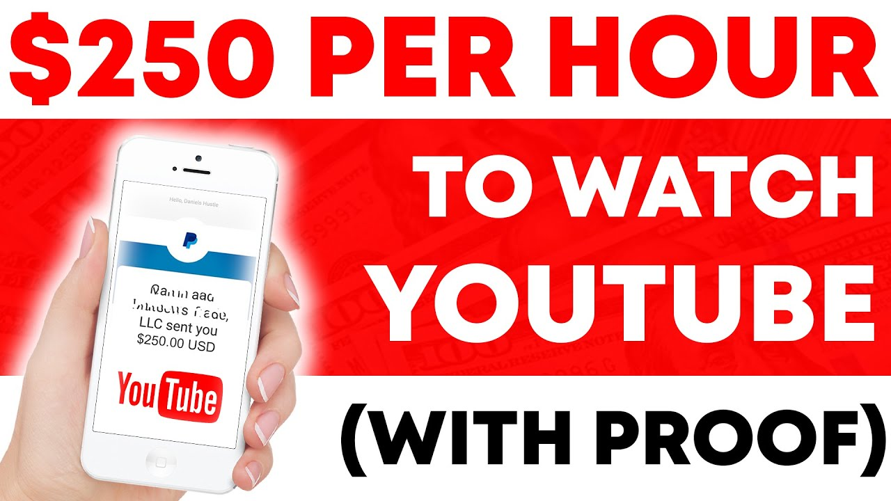 How I Made $250 In One Hour By Viewing YouTube Videos – How To Earn Money Online