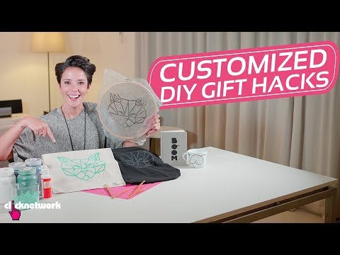 Customized DIY Gift Hacks - Hack It: EP51