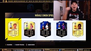 FIFA 17: OMG UNSER BESTES TOTY MESSI & RONALDO + LEGENDEN FUT DRAFT! (inkl HEFTIGES 87 IF PACK)