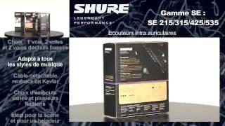 Shure SE425-CL - Video