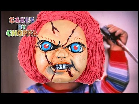 Halloween Cake - Chucky | Child's Play (How To)