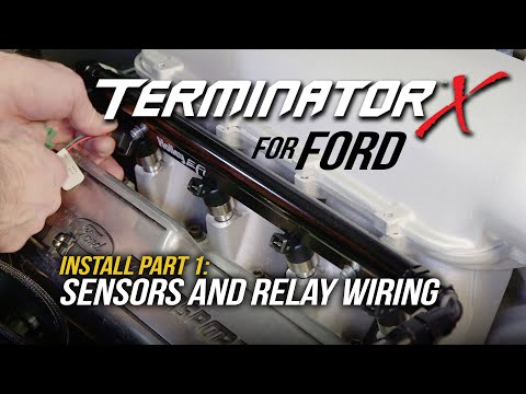 Terminator X EFI for Ford Part 1: Sensors And Relay Wiring