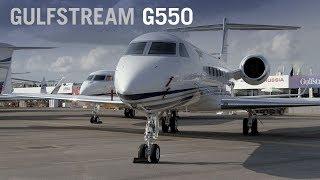 Gulfstream G550 Business Jet Cabin Interior