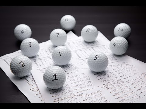 TGW'S Blind Golf Ball Test – Titleist, Callaway, TaylorMade, Bridgestone and Srixon Tour Balls