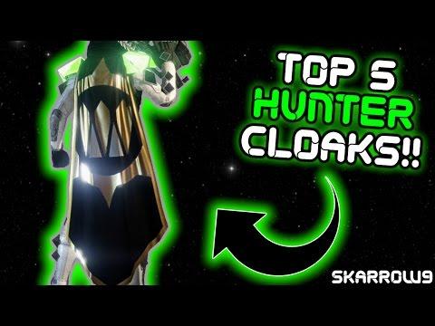 Top 5 Best Looking Hunter Cloaks!!