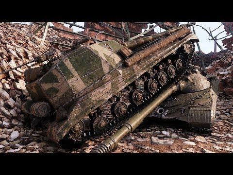 Object 268 V4 - OFFENSIVE DESTROYER - World of Tanks Gameplay