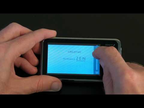 Creative Zen X-Fi 2 8GB MP3 & Video Player Review
