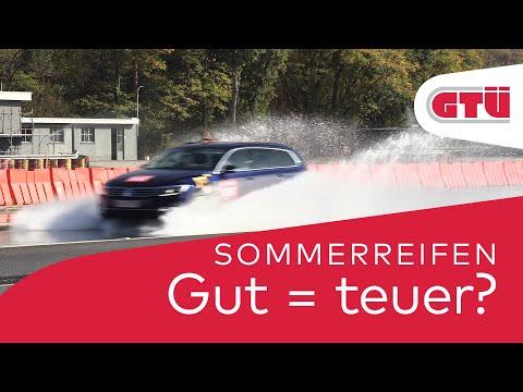 GTÜ-Test: Gute Sommerreifen müssen nicht teuer sein