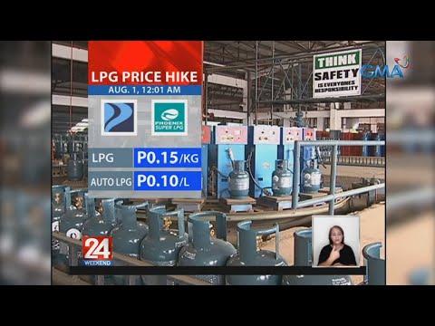 [GMA]  24 Oras: LPG price hike