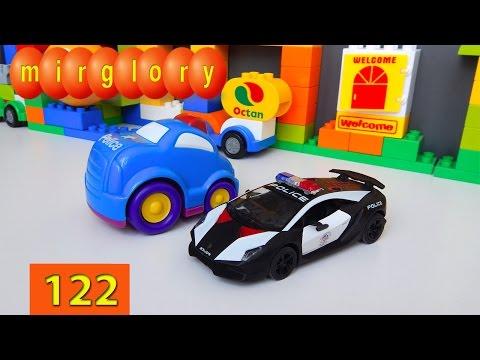 Мультики про машинки Полицейский Патруль - Город машинок 122 серия Мультфильмы для детей mirglory