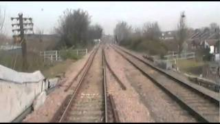 preview picture of video 'Hastings DEMU 1001 Cabview Acton Wells - Dudding Hill Norfolk Navigator'