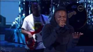 Kendrick Lamar: M.A.A.d City/Bitch Don't Kill My Vibe (NBA All-Star Performance 2014)