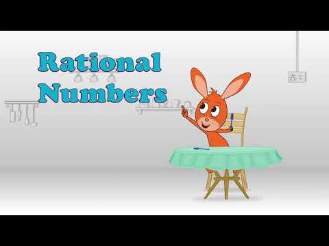 Rational numbers for class 5th-8th