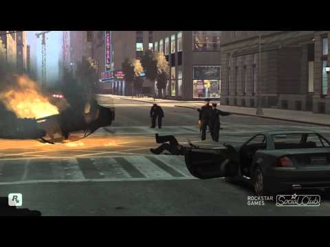 GTA 4 Episodes From Liberty City (TBoGT) Funny Moments 2.flv