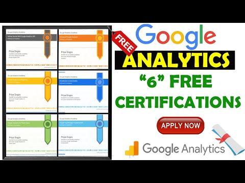 How did I become Google Analytics certified? Google Analytics 6 ...