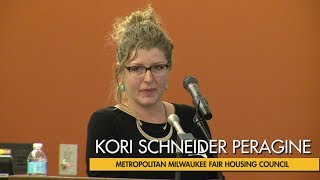 Kori Schneider Peragine presents at the 11th Annual Milwaukee Summit
