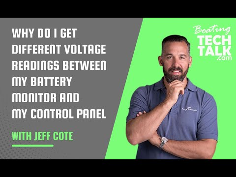 Why Do I Get Different Voltage Readings Between My Battery Monitor and My Control Panel?