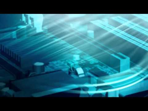 Circuit Board Technology Royalty Free Video Looping Background HD
