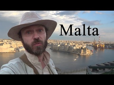 Military history of Malta in six minutes (whilst spinning)
