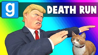 Gmod Death Run Funny Moments - Climbing Trump Tower! (Garry's Mod)