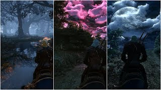 Witcher 3 Extreme modded Next Gen graphic  Super Turbo Lighting mod  Apex Reshade 2