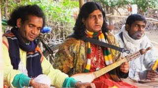 Baul Singing Group near Shantiniketan