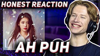 HONEST REACTION to IU - '어푸 (Ah puh)'   LILAC Listening Party PT6