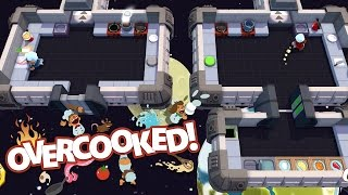 OVERCOOKED! -  Cooking in Space - Part 7 [Father and Son Gameplay]