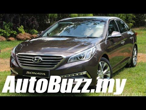 2015 Hyundai Sonata Media Test Drive - AutoBuzz.my