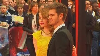 FUNNY Andrew Garfield Refuses To Talk About Girlfriend Emma Stone