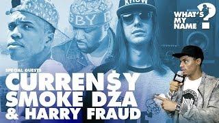 Smoke DZA, Curren$y & Harry Fraud Get High  on Lyrics