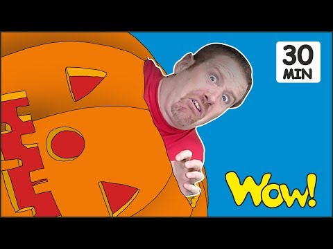 Halloween Stories for Kids from Steve and Maggie   Songs and Rhymes for Children by Wow English TV