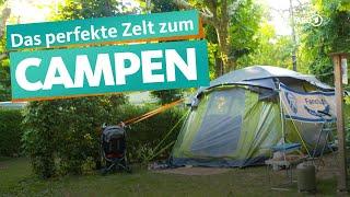 Das richtige Zelt finden – Erster Camping Urlaub zu dritt   WDR Reisen