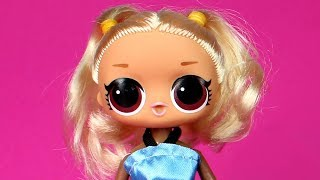 FAKE LOL Surprise Dolls Opening Fake Under Wraps Lil Sister Dolls and Fake LOL Barbie Doll