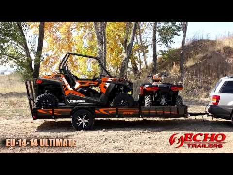 2020 Echo Trailers Ultimate EU-10-14 in Ukiah, California - Video 1